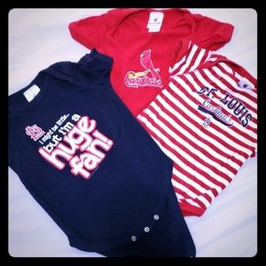 Other - St. Louis Cardinals Onsie lot